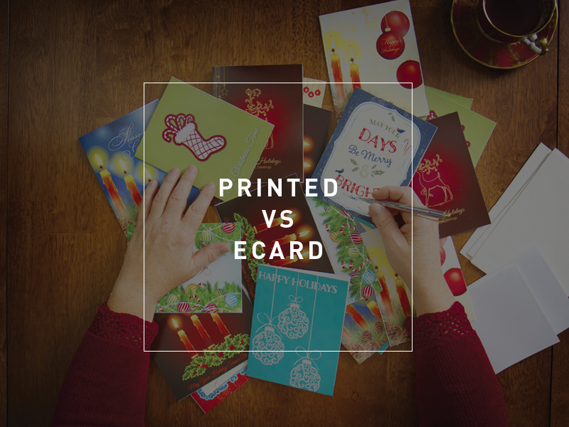 Hardcopy Christmas cards will have a much higher open rate than email Newstyle Print Adelaide