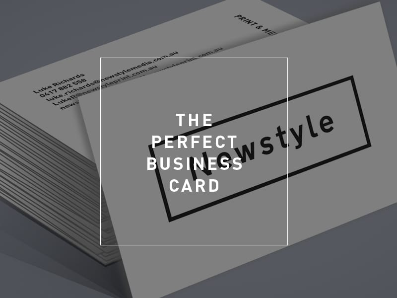 6 Things You Must Think About Before Printing Your Business Card