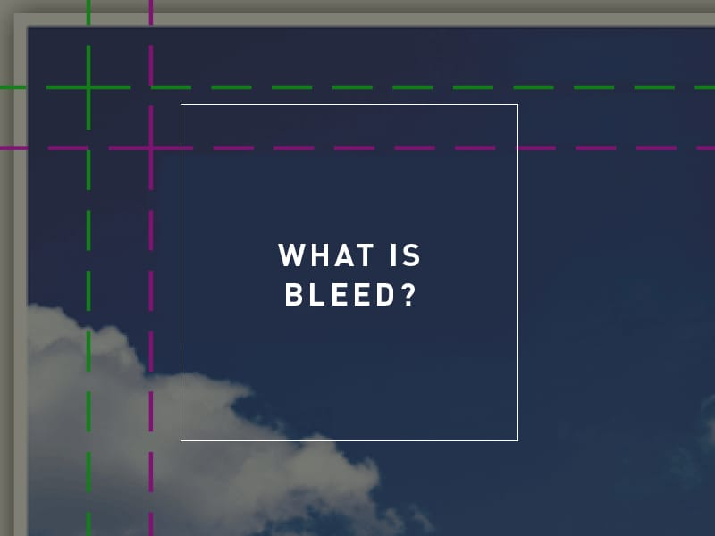 What is bleed?