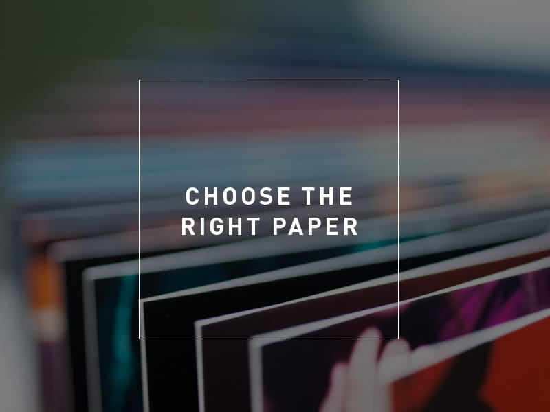 Why You Have 7 Seconds to Impress with the Paper You Choose to Reflect Your Brand