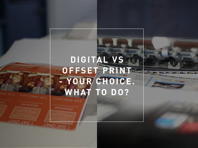 Offset And Digital Printing Which Is Better